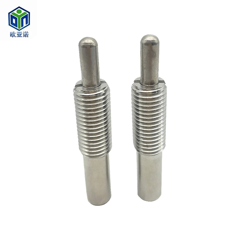 Stainless steel high-end precision spring plunger with teeth Locating pin ball screw