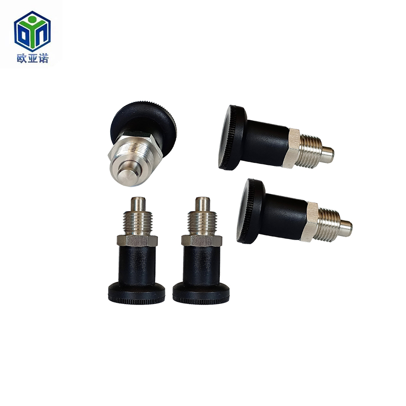 Knob plunger indexing pin Self-locking resin knob